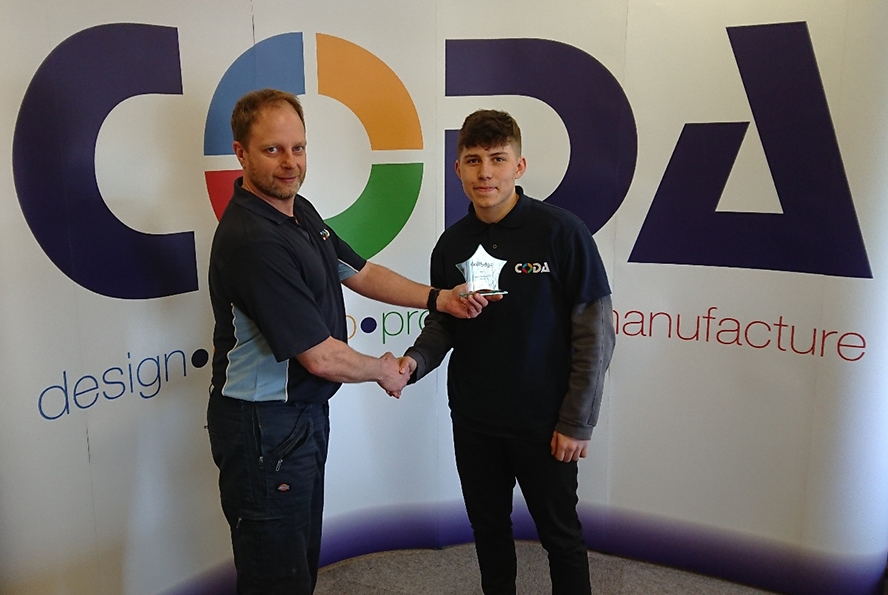 Special Recognition Apprenticeship Award for Josh Anderson