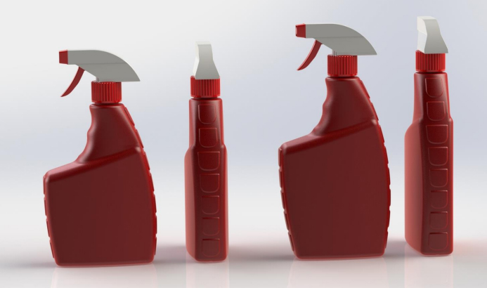 Blow moulded bottles