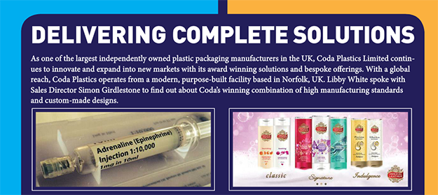 Coda Plastics Packaging Europe article