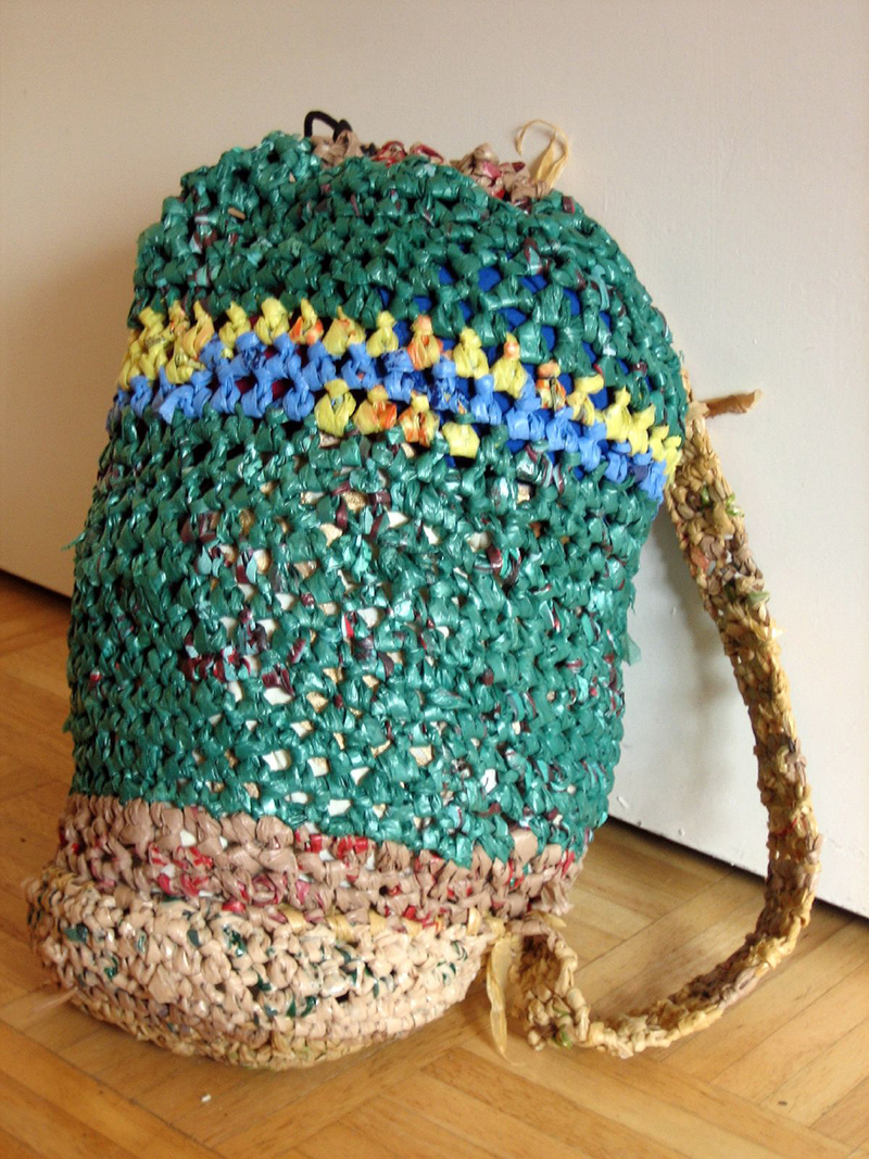 Crochet recycled plastic bags - Creative Plastic Recycling Ideas