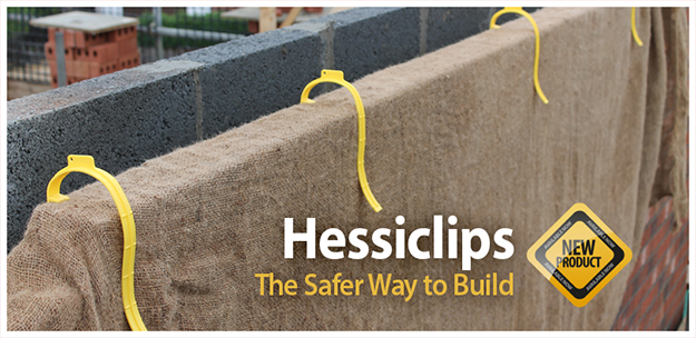 Hessiclip construction product