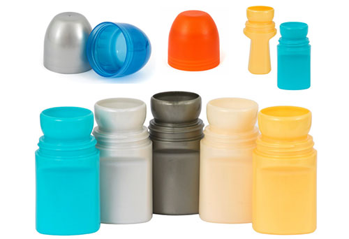 Plastic roll ball bottles