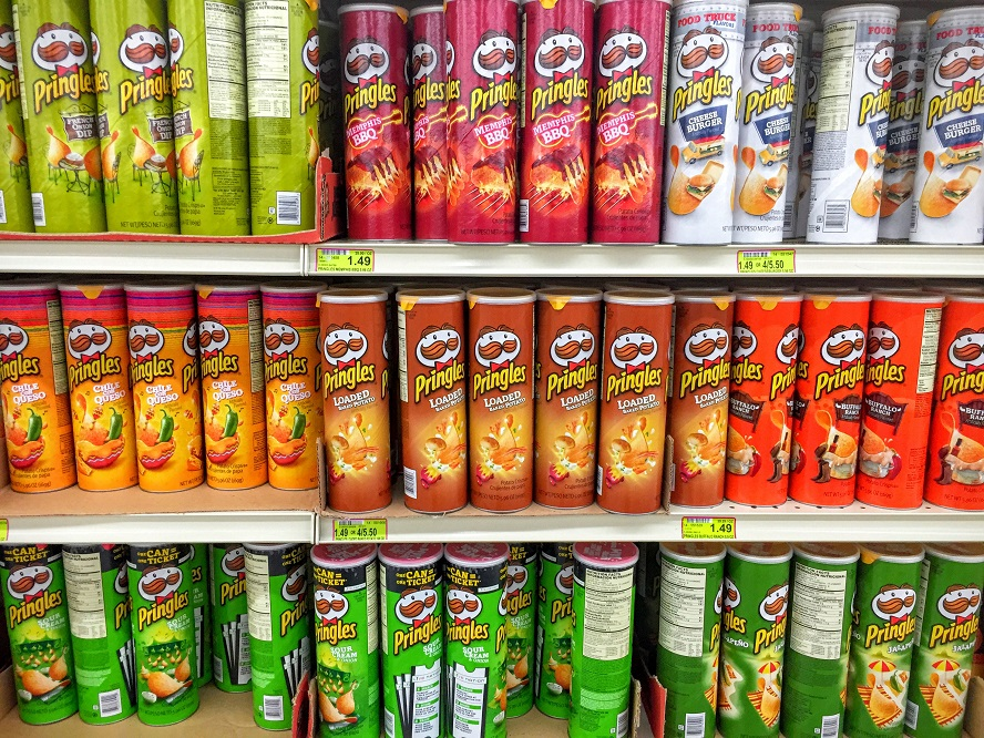 Pringles Tubes Are Hard To Recycle