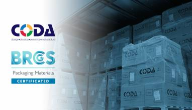 Coda Plastics BRCGS Packaging Materials Certificated with AA Rating