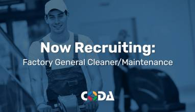 Coda Plastics Now Hiring Factory General Cleaner Maintenance