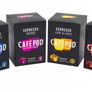 Coffee pod manufacturer