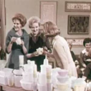 A 1950s Tupperware Party